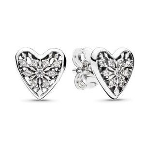 🔥Pandora🔥 Hearts of Winter Earrings